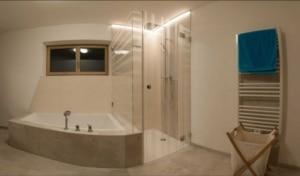 Glasduschen auf Badewanne montiert in michaelbach oö