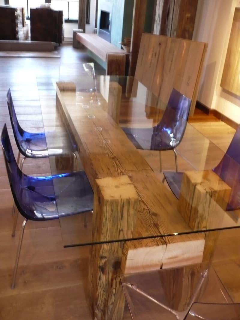 Design-Esstisch-Estable aus altholz 4722 bruck-waasen