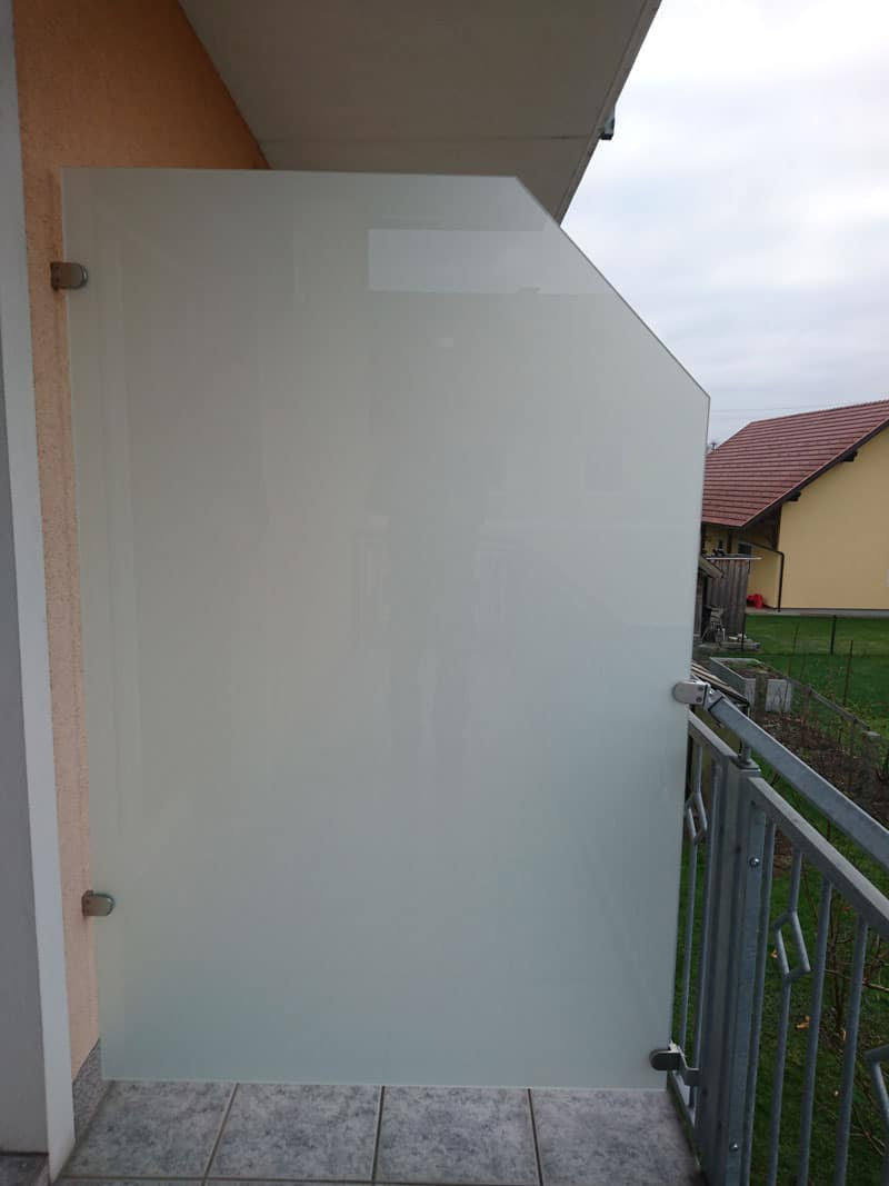 Glastrennwand-Balkon-Sichtschutz-Balkon und schutz für wind oö