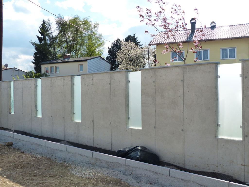 glas-in-gartenmauer pollham österreich