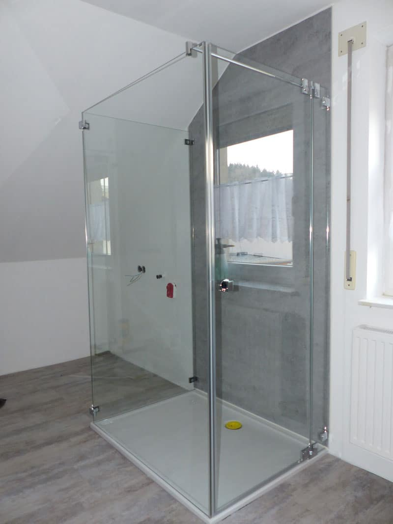 u-glasdusche 90x120 in wallern oö